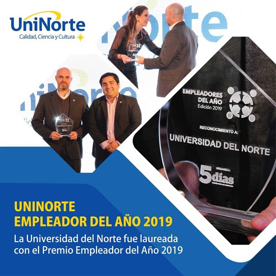 UniNorte, empleador del año 2019 – UniNorte – Paraguay